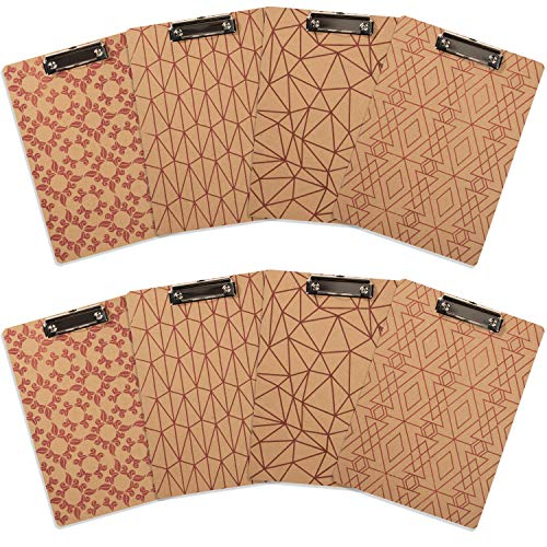 Wood Clipboard Clipboards Hardboard Assorted