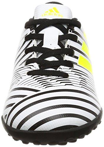 adidas Kinder Fussballschuhe NEMEZIZ 17.4 TF J FTWWHT/SYELLO/CBLACK 30 1/2