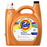 Tide Plus Bleach Alternative Liquid Laundry Detergent, Original Scent,...