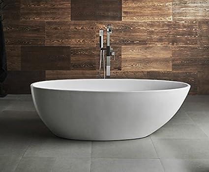 Vasca Bagno Freestanding : Vasca da bagno freestanding gemini: amazon.it: casa e cucina