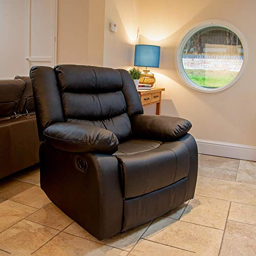 Beauty4less Lazy Boy Leather Style Recliner Chair Buy