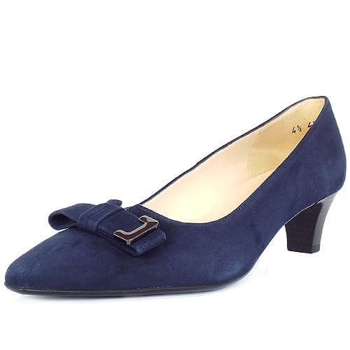 Corte complementos Amazon Azul Marino 8 Notte Mujeres En Kaiser Suede Bajo Esti 5 es Peter Tacon Zapatos y Gamuza Zapatos Elegantes aRFpEE