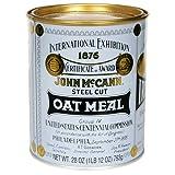 McCANN'S Steel Cut Irish Oatmeal, 28-Ounce Tins (Pack of 4)