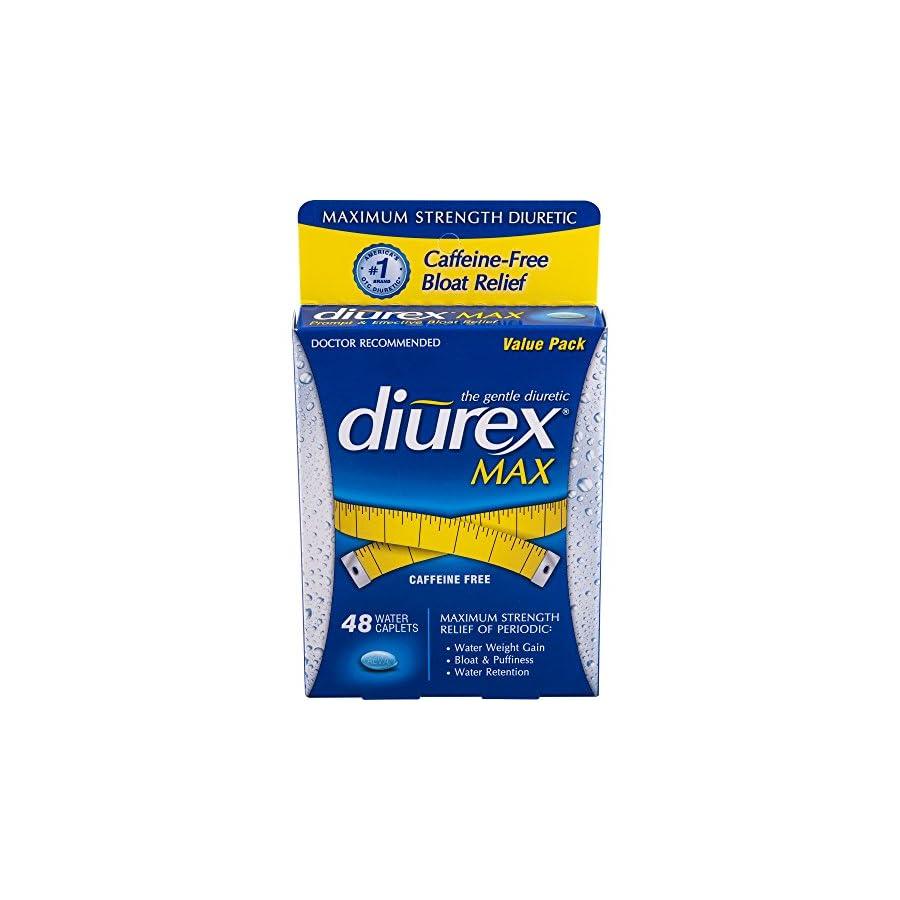 Diurex Max Diuretic Water Caplet, 48 Count