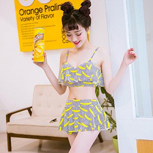 YUPE Hot spring Badeanzug Mode Bademoden Bikini Girls Studentinnen Badeanzug ferienhäuser strand