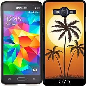 Funda para Samsung Galaxy Grand Prime (SM-G530) - Palmeras Del Sol by hera56