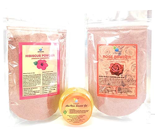 QYKKARE Anti-Ageing, Anti Blemishes & Skin Hydrating Kit(100 Gram X 3)