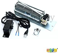 bbq factory FK24 Replacement Fireplace Blower Fan KIT for Monessen, Vermont Castings...