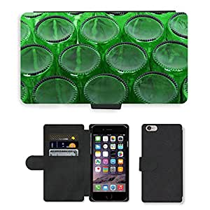 PU Cuir Flip Etui Portefeuille Coque Case Cover véritable Leather Housse Couvrir Couverture Fermeture Magnetique Silicone Support Carte Slots Protection Shell // M00153770 Alcohol Cerveza detalle botella limpia // Apple iPhone 6 PLUS 5.5""