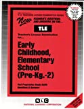 Early Childhood, Elementary School (Pre-Kg.-2), Rudman, Jack, 0837380138