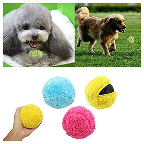 Robotic Laser Ball - Viet's Hand Magic Roller Ball Toy for Dogs- Automatic Floor Sweeper Robot Robotic Microfiber Mop Rolling Ball Vacuum Cleaner