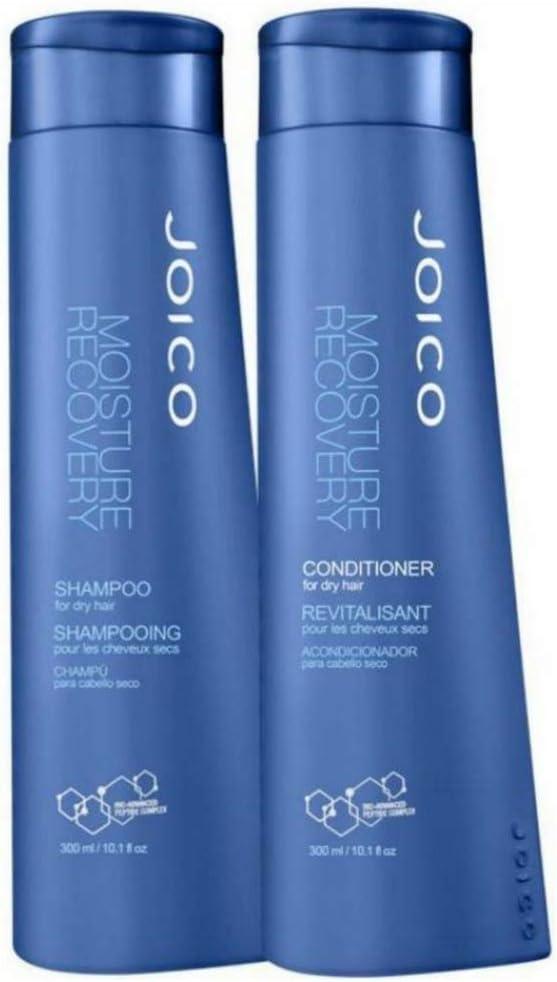 Banner Kit para cuidados com cabelo Joico Moisture Recovery Shampoo 300ml + Condicionador 300ml
