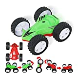 Baby Kids Toy RC Car Non-slip tires Cross Country Toy Electric Racing Car,Hight Super Inertial Double Side Toy Car for Children Participate Play Competition 2pcs