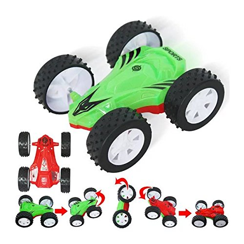 Baby Kids Electric Toy RC Car Remote Control Sport Racing Dumpers Car Toy,Double Side Cars Model Toys for RC Car Fans Collection (Traxis Rc Car Battery compare prices)