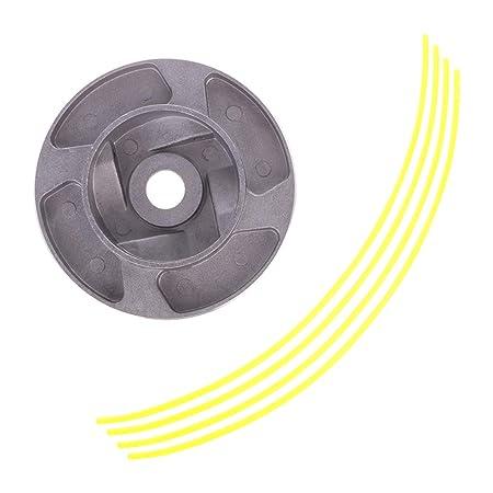 Manyo - Cabezal desbrozadora universal de aluminio para ...