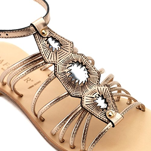 CAFèNOIR Sandal - Sandalias de vestir de material sintético para mujer E15.228 BLU