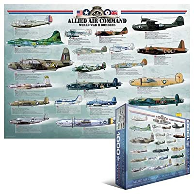 Allied Air Command WWII Bomber 1000-Piece Puzzle | Learning Toys