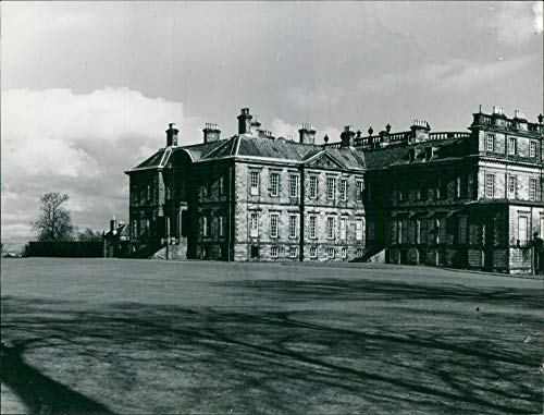 Vintage photo of Hopetoun House