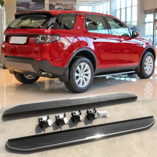 (Kingcher Running Boards Door Side Step Nurf Bar for Land Rover Discovery Sport 2015 2016 2017)