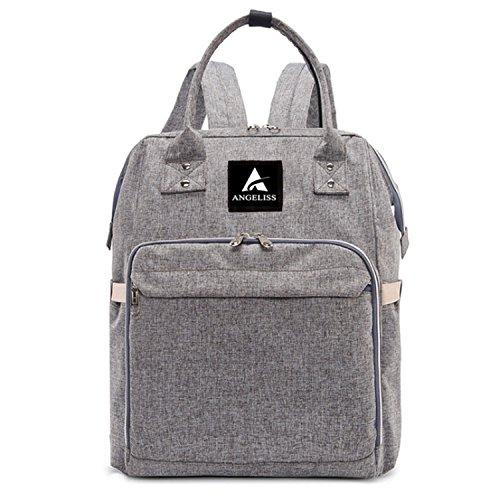 Amazon.com: Diseñador bebé mochila para pañales (– Multi ...