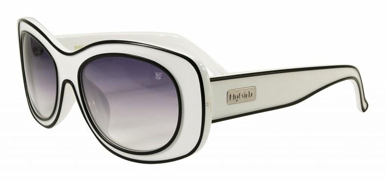 Black Flys Women's 'BREAKFAST AT FLYS' Oval 59mm Sunglasses