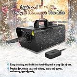 1byone 650W Snow Machine Wired Remote Control Great