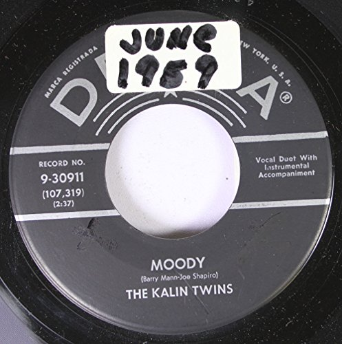 Kalin Twins - Moody / Sweet Sugar Lips (45/7