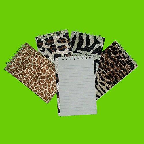 Fun Express Plush Animal Spiral Notepads (24 Pack) by Fun Express