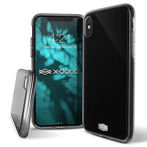 Capa Anti Impacto Iphone X Original, X-Doria, XD191-02, Cinza