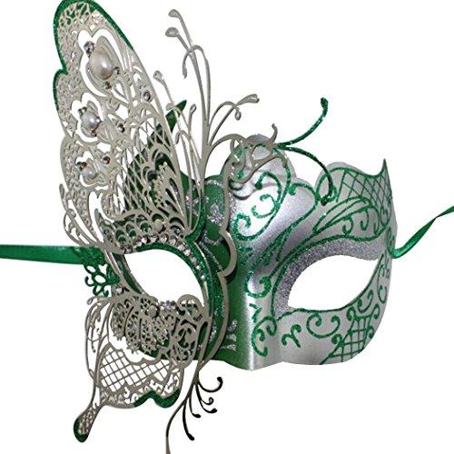 Masqu (Green Masquerade Masks)