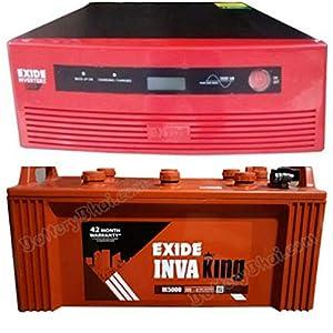 Exide Technologies 850Va Home UPS and 150Ah Battery