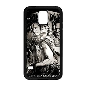 C-EUR Customized Print The Walking Dead Hard Skin Case Compatible For Samsung Galaxy S5 I9600 hjbrhga1544