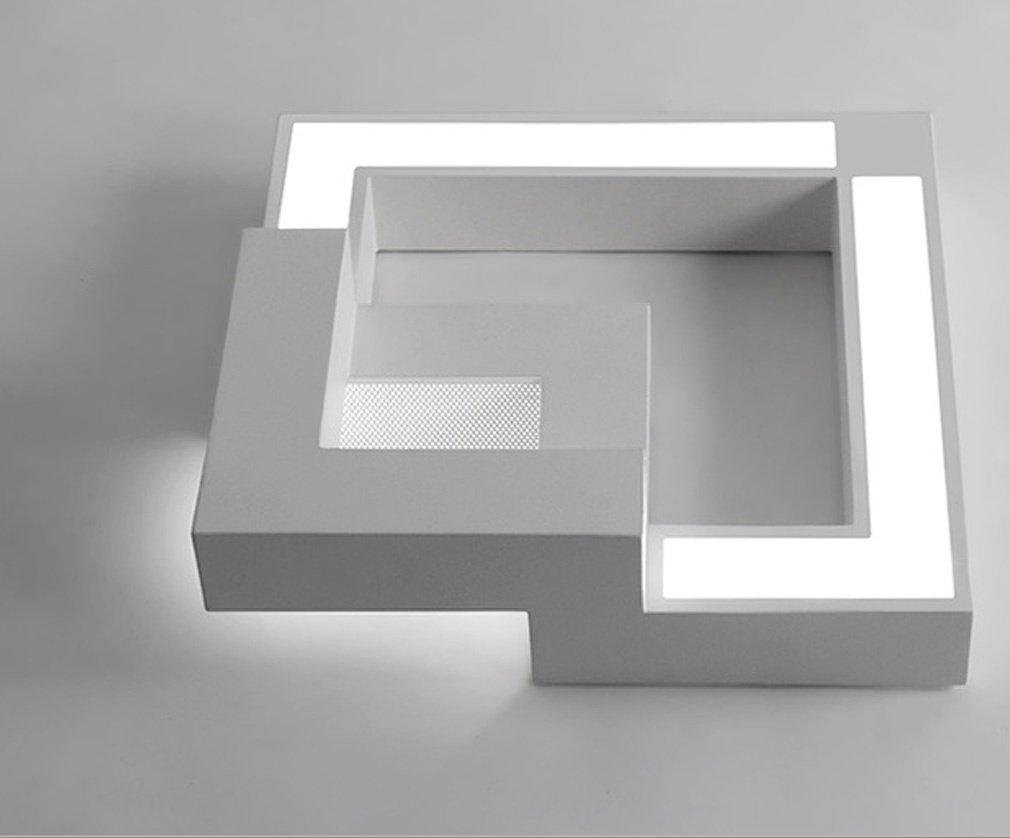 Plafoniera Led Soffitto Camera Da Letto : W led plafoniera moderno acrilico bianca pendente lampadario