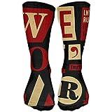 Novelty Don't,care Girls Dress Socks Womens Crew Socks