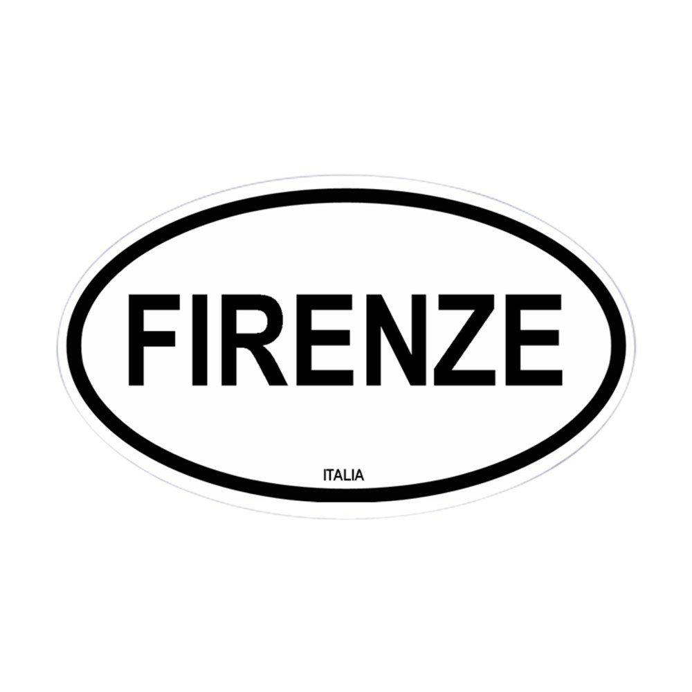 Amazon.com: CafePress – Firenze Oval – Oval Bumper Sticker ...