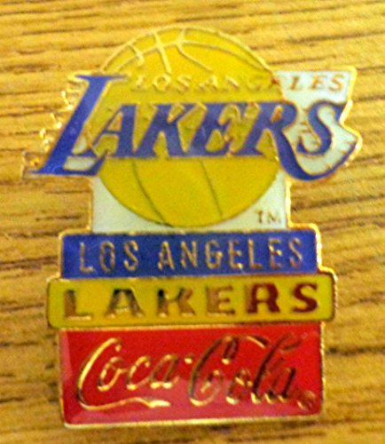 Vintage Rare Original Los Angeles Lakers Coca Cola team NBA Basketball Hat Lapel Pins Rare Sport Pin Football