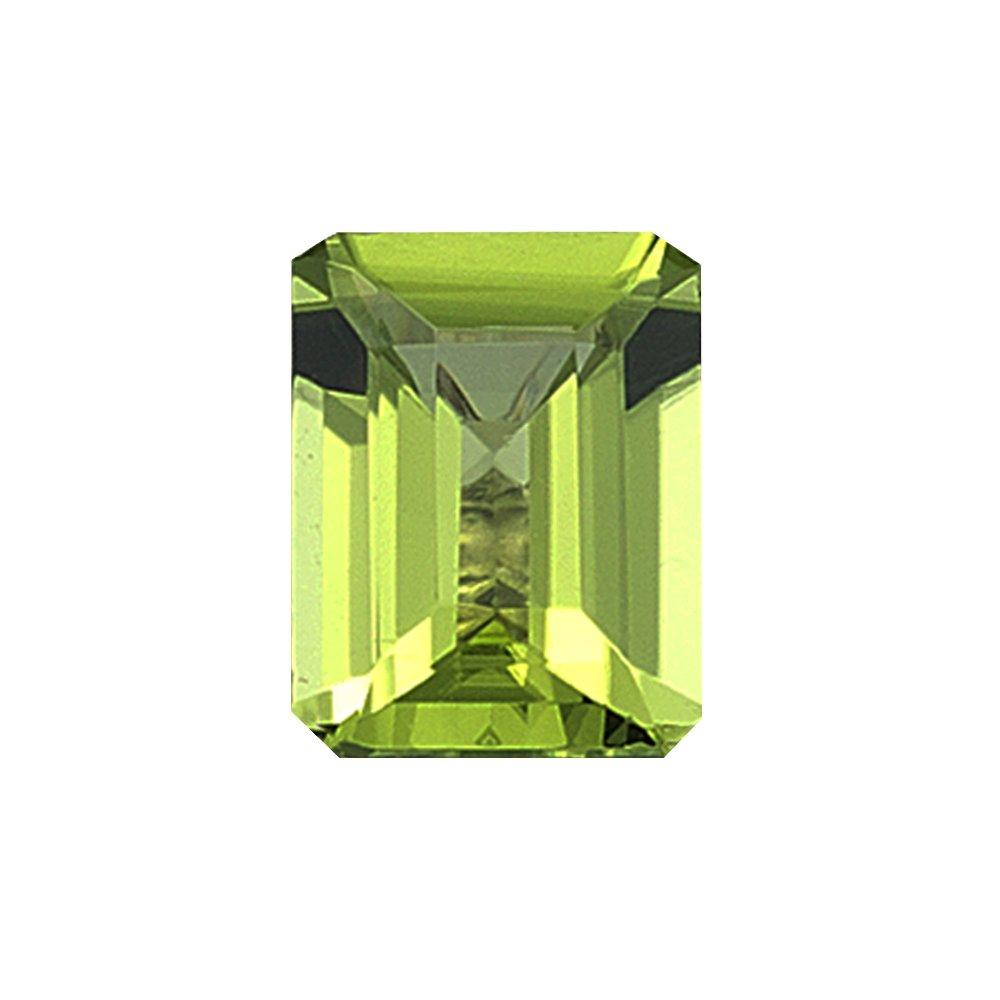 2.20 Cts of 9X7 mm AAA Emerald Peridot ( 1 pc ) Loose Gemstone