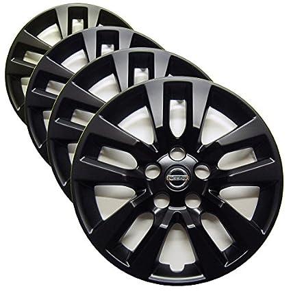 Amazon.com: Carolina Wheel Cover Nissan Altima (2013-2018) Genuine Factory 16-inch Hubcaps - Custom Matte Black Paint (Set of 4): Automotive