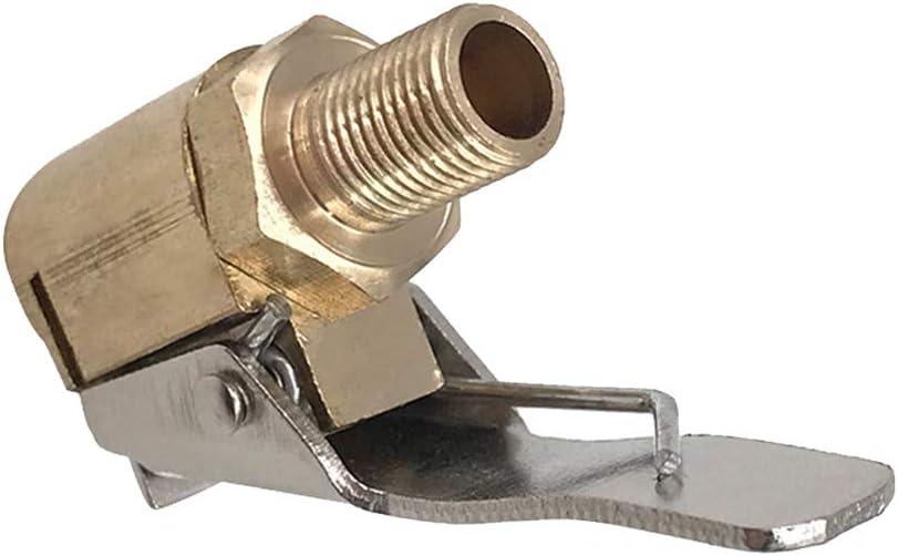 Republe Adattatore del connettore Morsetto Auto Car Brass 8 Millimetri dAria della Gomma della Rotella Chuck gonfiaggio Valvola Pompa della Gomma della Clip