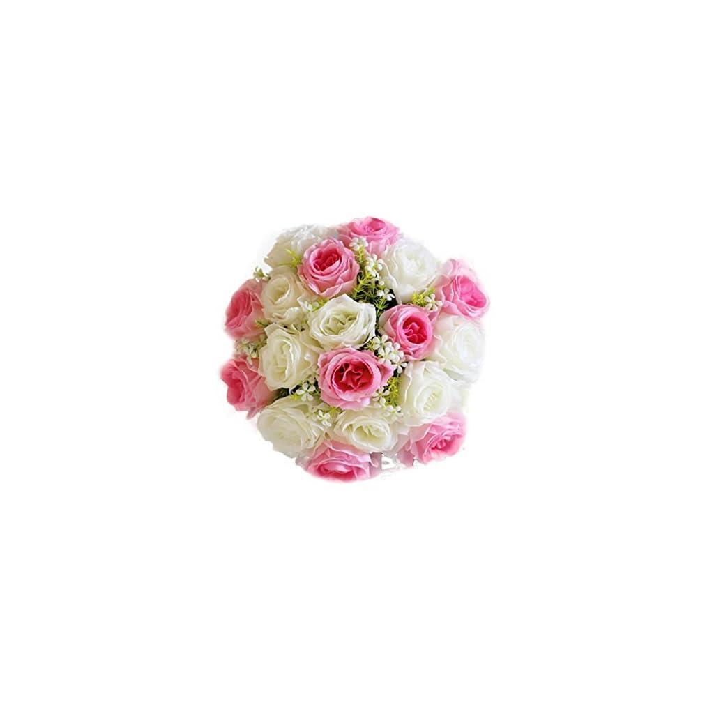 Inverlee-18Head-Artificial-Flowers-Silk-Rose-Fake-Flowers-Wedding-Bridal-Bouquet-DIY-Home-Garden-Decor