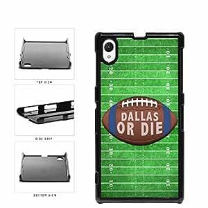 linJUN FENGDallas or Die Football Field Plastic Phone Case Back Cover Xperia Z1