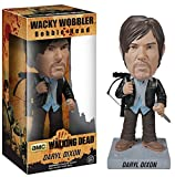 Biker Daryl Dixon Bobble Head Figure: Walking Dead x Wacky Wobbler Series