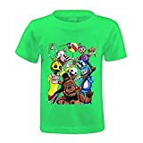 Toypop Welcome To Feazbear's Pizza Kids Cotton O-Neck Tshirts Customized Green