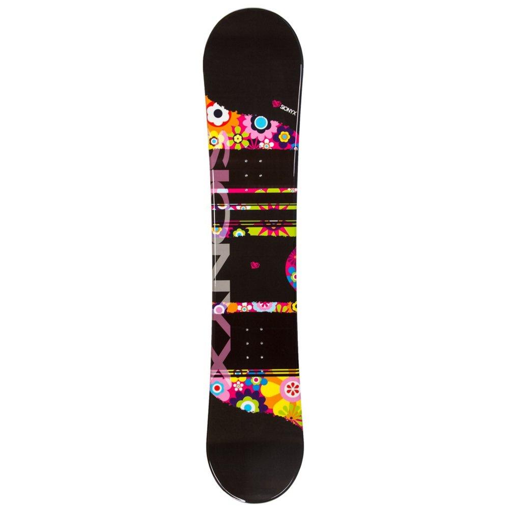Sionyx Flower Girl Black Girls Snowboard - 138cm by Sionyx