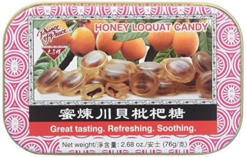 - Prince of Peace Honey Loquat Candy, 2.68 Ounce