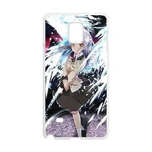 Samsung Galaxy Note 4 phone case White anime-angel-beats GHHL6520230