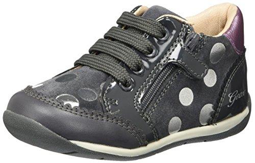 Geox B Each C, Zapatillas para Bebés Gris (Dk Grey)