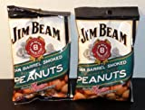 Jim Beam Oak Barrel Smoked Roasted & Salted Peanuts (2 Pack)