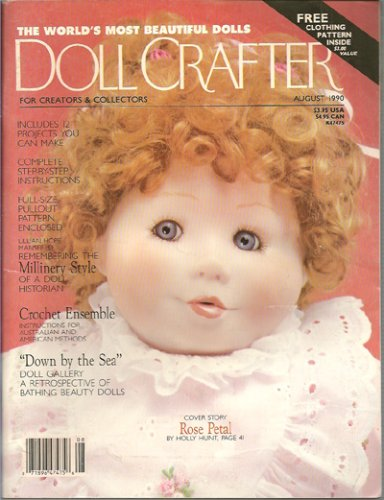 Doll Crafter Magazine - August 1990 (Single Issue Magazine) ()