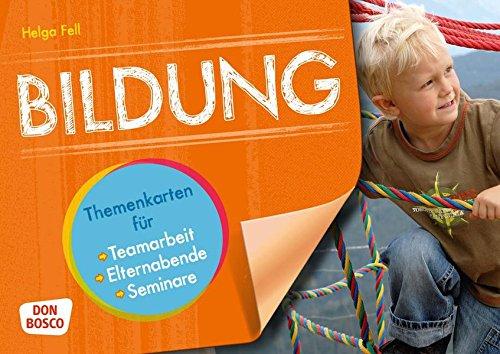 Bildung - Themenkarten für Teamarbeit, Elternabende und Seminar (Motive für die Bildkartenbühne)